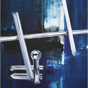 Night and Car, Aus der Serie Chromologie<br>Acryl auf Leinwand, 90x110cm, 2007